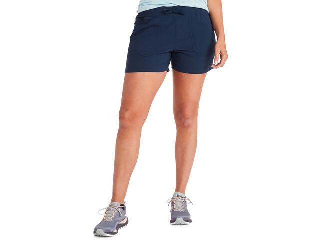 Marmot Adeline Pantalones cortos Mujer, azul